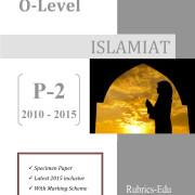 Islamiat-O-Level-P-2