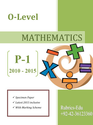 Mathematics-O-Level-P-1