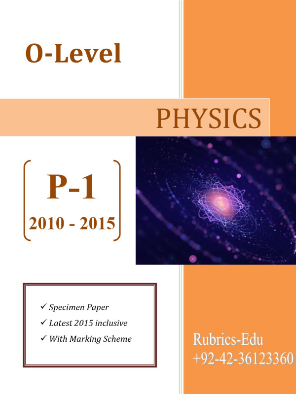 Physics-O-Level-P-1
