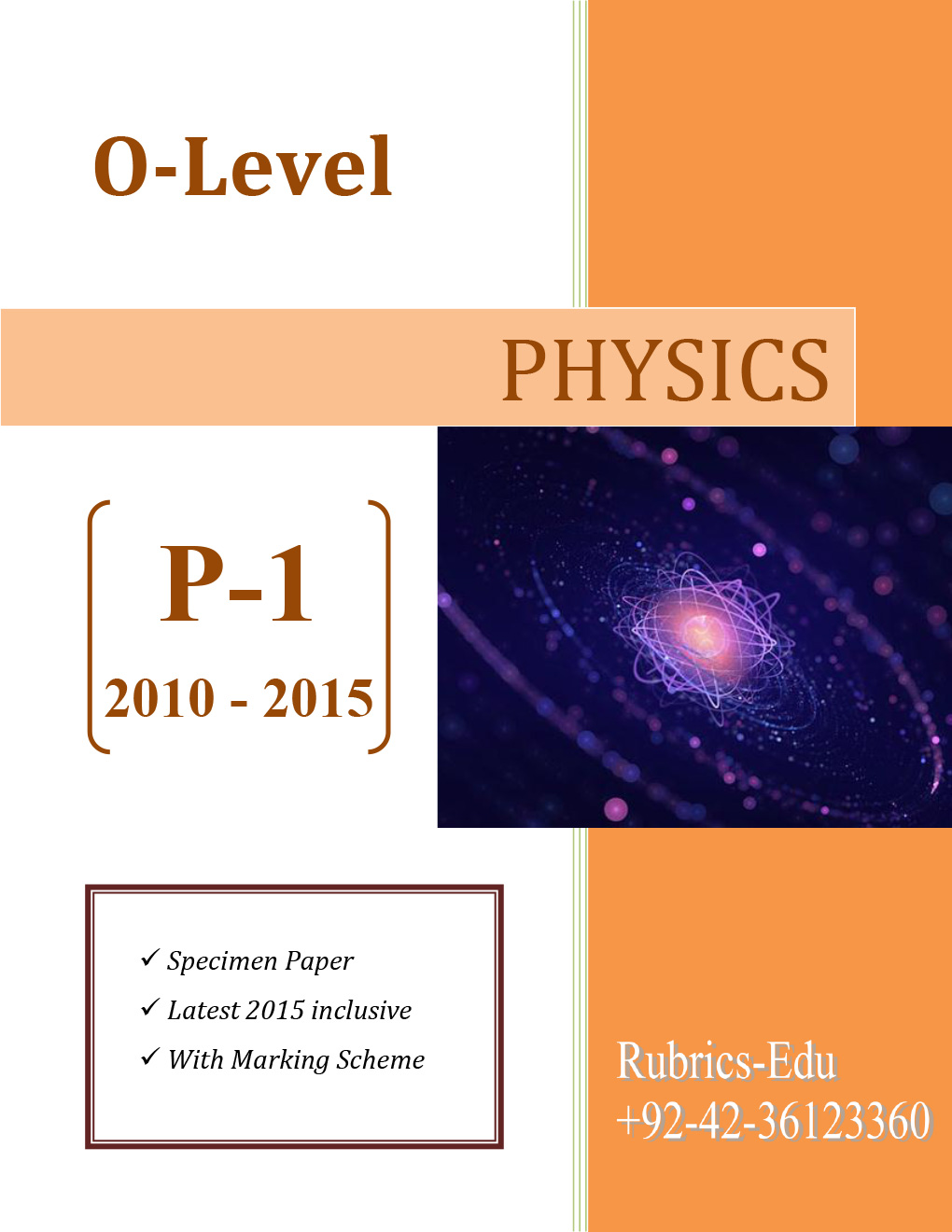 Physics [P-1] 5 Years Past Papers (GCE O-Level)